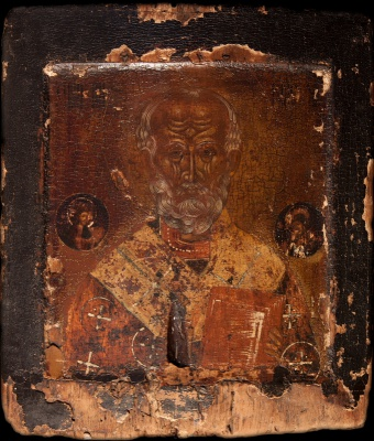 2461n: St Nicholas the miracle-worker. The Archbishop of Myra in Lycia. SOLD