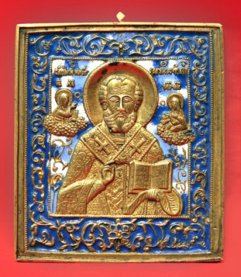 637n: Icon of St. Nicholas the Miracle-worker. _1