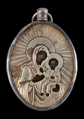 3213n:Panagia (chest icon) Mother of God