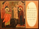 "2624n: Double-sided icon. ""Annunciation"" Sold"