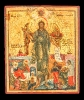 3122n: Vita icon. John the Baptist, with scenes from his life. SOLD
